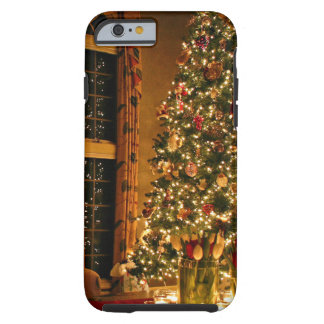 Christmas decorations - christmas tree tough iPhone 6 case