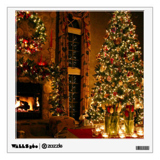 Christmas decorations - christmas tree wall sticker