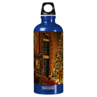 Christmas decorations - christmas tree water bottle