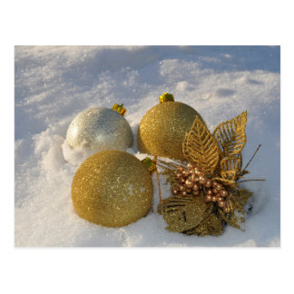 Christmas Decorations postcard
