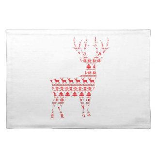 Christmas Deer2 Placemat