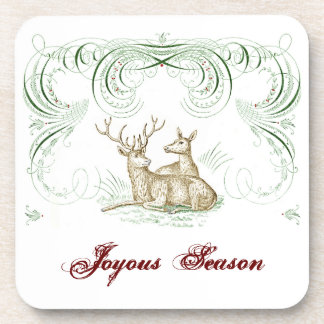 Christmas Deer Coaster
