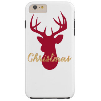 Christmas Deer iPhone Case