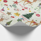 Christmas Deer   Name   Glossy Wrapping Paper