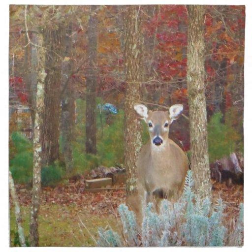 Christmas Deer Napkins