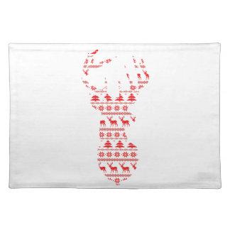 Christmas Deer Placemat