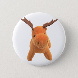 Christmas Deer transparent PNG 2 Inch Round Button