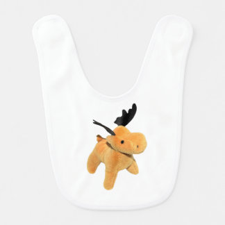 Christmas Deer transparent PNG Baby Bibs