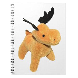 Christmas Deer transparent PNG Notebook
