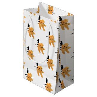 Christmas Deer transparent PNG Small Gift Bag