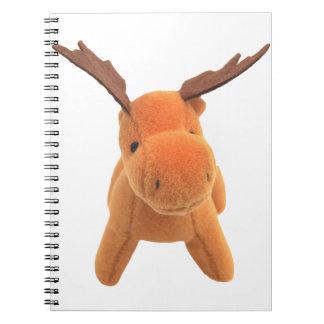 Christmas Deer transparent PNG Spiral Note Books