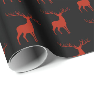 Christmas Deer Wrapping Paper