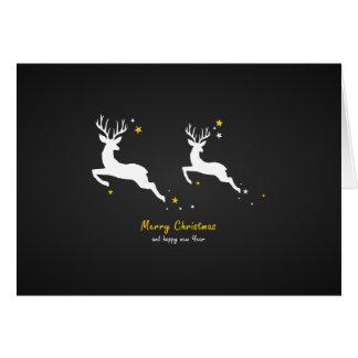 Christmas Deers Card