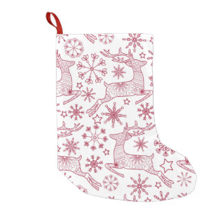 christmas deerson stocking small christmas stocking