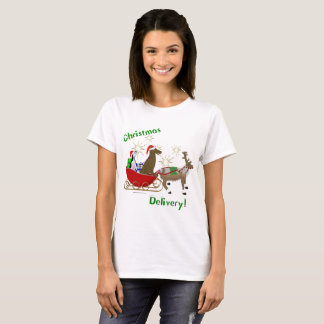 Christmas Delivery Ladies T-Shirt