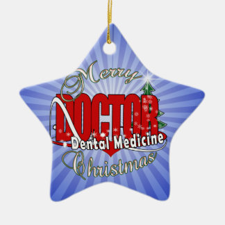 CHRISTMAS Dental Medicine DENTIST Ceramic Ornament