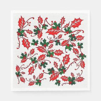 Christmas Design Paper Napkins