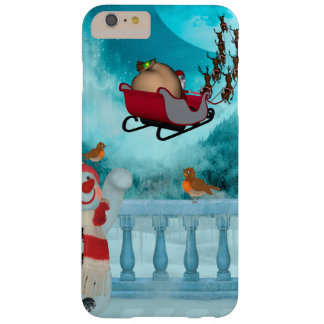 Christmas design, Santa Claus Barely There iPhone 6 Plus Case