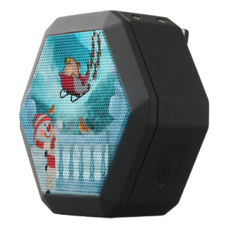 Christmas design, Santa Claus Black Bluetooth Speaker