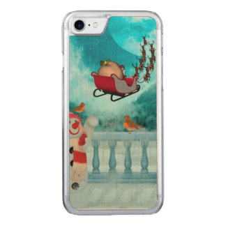Christmas design, Santa Claus Carved iPhone 8/7 Case