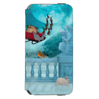 Christmas design, Santa Claus Incipio Watson™ iPhone 6 Wallet Case