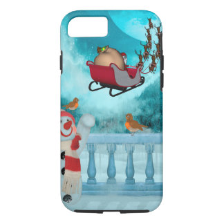 Christmas design, Santa Claus iPhone 8/7 Case