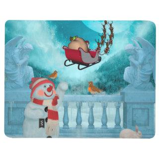 Christmas design, Santa Claus Journal