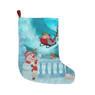 Christmas design, Santa Claus Large Christmas Stocking