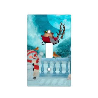 Christmas design, Santa Claus Light Switch Cover