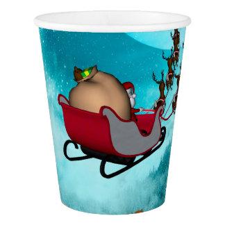 Christmas design, Santa Claus Paper Cup