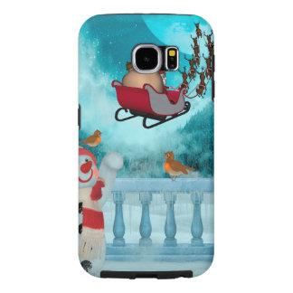 Christmas design, Santa Claus Samsung Galaxy S6 Case