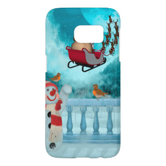 Christmas design, Santa Claus Samsung Galaxy S7 Case