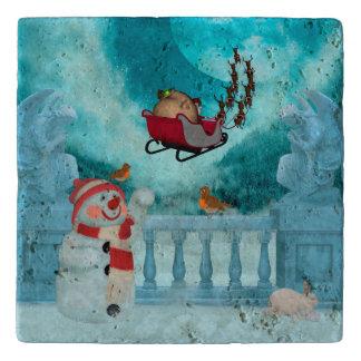 Christmas design, Santa Claus Trivet