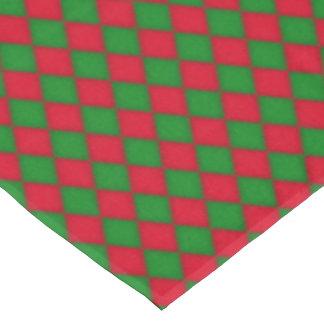 Christmas Diamond pattern Holiday tablecloth