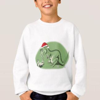 Christmas Dinosaur at the Manger Sweatshirt