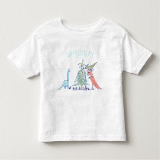 Christmas Dinosaur Holiday Shirt