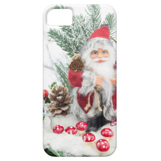 Christmas dish with santa Claus and decoration iPhone 5 Case