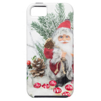 Christmas dish with santa Claus and decoration iPhone 5 Cover