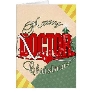 CHRISTMAS DOCTOR PHYSICIAN CARD
