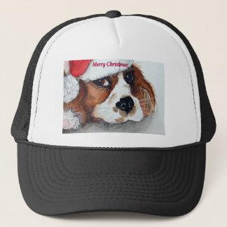 Christmas Dog Cards cocker spaniel Trucker Hat