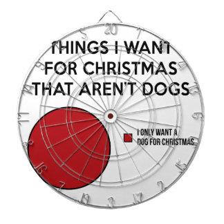 Christmas Dog Dartboard
