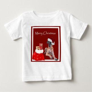 Christmas Dog Great Dane Baby T-Shirt