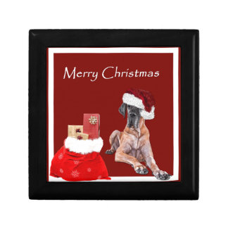 Christmas Dog Great Dane Gift Box