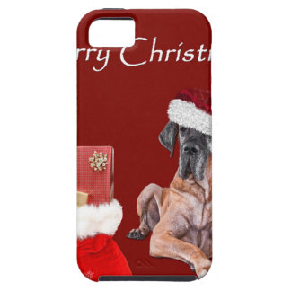 Christmas Dog Great Dane iPhone 5 Cover