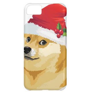 Christmas doge - santa doge - christmas dog cover for iPhone 5C