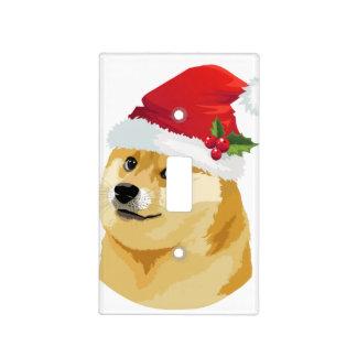 Christmas doge - santa doge - christmas dog light switch cover