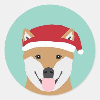 Christmas Doge Sticker - Shiba Inu Christmas