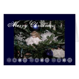 Christmas dolls card