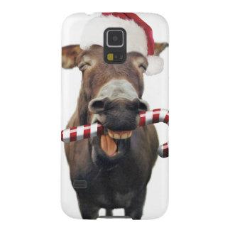 Christmas donkey - santa donkey - donkey santa case for galaxy s5