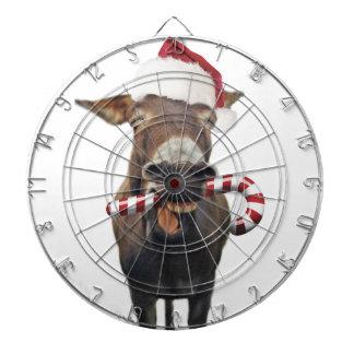 Christmas donkey - santa donkey - donkey santa dartboard
